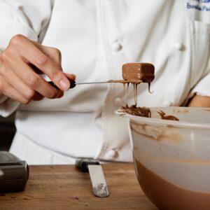 Chocolate Fork, Straight Tines