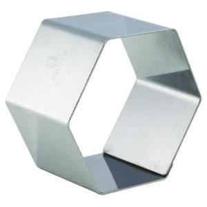 Nonnette Ring, Hexagon, Pack of 4
