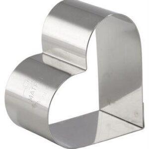 Nonette Ring, Heart, Pack of 4